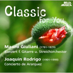 Classic for You: Giuliani: Konzert für Gitarre und Streichorchester - Rodrigo: Concierto de Aranjuez
