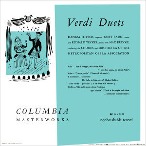 Richard Tucker- Verdi Duets