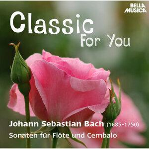 Classic for You: Bach: Sonaten für Flöte und Cembalo