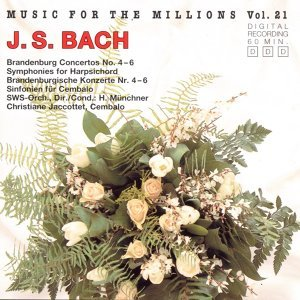 Music For The Millions Vol. 21 - Johann Sebastian Bach