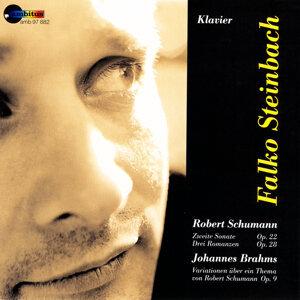 Schumann, Zweite Sonate op. 22, Driei Romanzen op. 28, Johannes Brahms, Variationen op. 9
