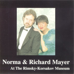 Norma and Richard Mayer at the Rimsky-Korsakov Museum