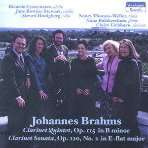 Johannes Brahms, Clarinet Quintet and Clarinet Sonata