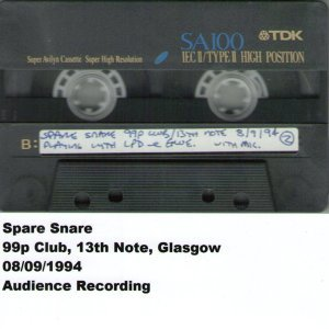 99p Club, 13th Note, Glasgow, 08.09.1994