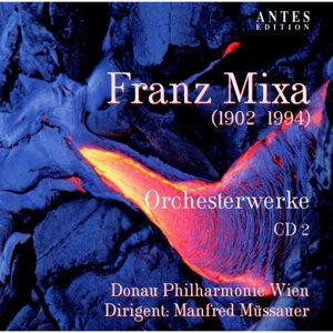 Franz Mixa: Orchesterwerke