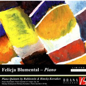 Piano Quintets By Rubinstein & Rimsky-Korsakov