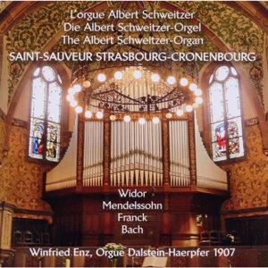 Lorgue Albert Schweitzer, Saint-Sauveur Strasbourg-Cronenbourg