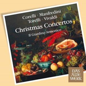 Corelli, Torelli, Vivaldi et al : Christmas Concertos - DAW 50