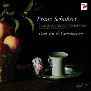 Schubert: Klaviermusik zu 4 Händen Vol. 7