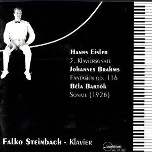Hanns Eisler, 3.  Klaviersonate/Johannes Brahms, Fantasien op. 116/Bela Bartok, Sonate (1926)