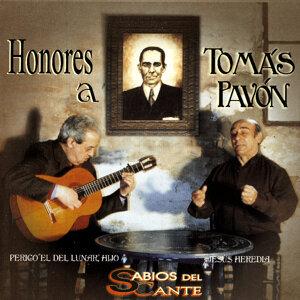 Honores a Tomas Pavon