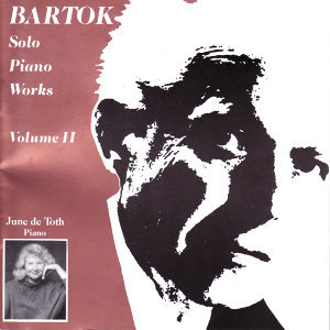Bartok Solo Piano Works, Volume 2