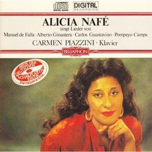 Alicia Nafé singt Lieder von Manuel de Falla, Alberto Ginastera, Carlos Guastavino, Pompeyo Camps