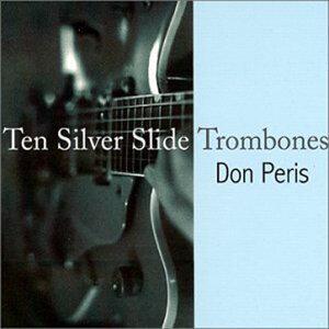 Ten Silver Slide Trombones