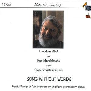 Song Without Words- Parallel Portrait of Felix Mendelssohn & Fanny Mendelssohn Hensel