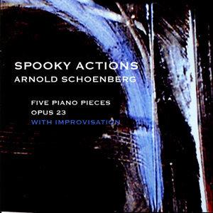 Arnold Schoenberg Five Piano Pieces op. 23