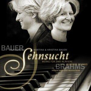 Sehnsucht Werke für zwei Klaviere von Johannes Brahms