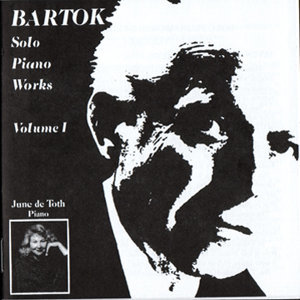 Bartok Solo Piano Works, Volume 1