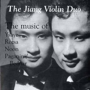 The Music of Ysaye, Rozsa, Noon, Paganini/Bednar