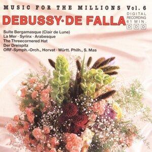 Music For The Millions Vol. 6 - Debussy / De Falla