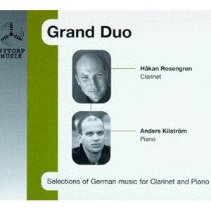 """""""Grand Duo"""" Rosengren / Kilstrom Plays Weber/Schumann/Hindemith/Brahms"""