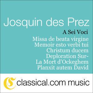 Josquin Des Prez, Missa De Beata Virgine