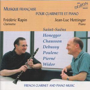 Musique française pour clarinette et piano