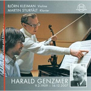 Harald Genzmer: Die Werke für Violine und Klavier