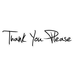 Thank You Please - Singles