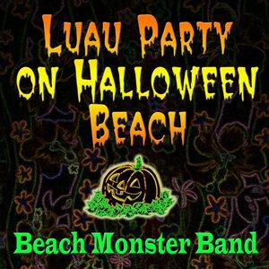 Luau Party On Halloween Beach