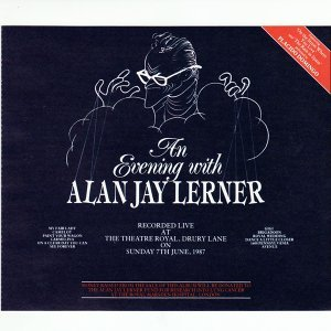 An Evening With Alan Jay Lerner