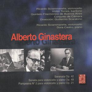 Alberto Ginastera, Serenata Op.42, Sonata Para Violoncello Y Piano Op.49, Pampeana Nº 2 Para Violoncello Y Piano Op.21