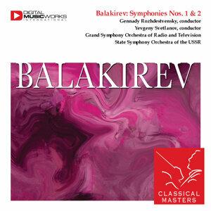 Balakirev: Symphonies Nos. 1 & 2