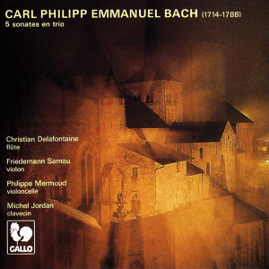 Carl Philipp Emmanuel Bach: 5 Trio Sonatas (Played in Quartet)