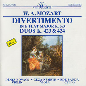 Trio Divertimento in E Flat Major K. 563 - Duos K. 423 & 424