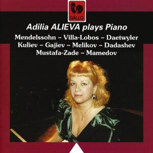 Мендельсон - Вилла-Лобос - Датвиле - Кулиев - Гаджиев - Меликов - Дадашев - Мустафа-Заде - Мамедов: Пьесы для фортепиано