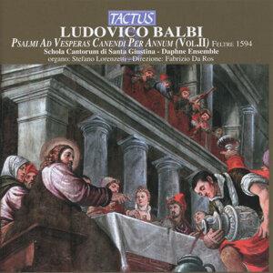 Balbi, Frescobaldi & Cima: Psalmi ad Vesperas Canendi per Annum, Vol. II