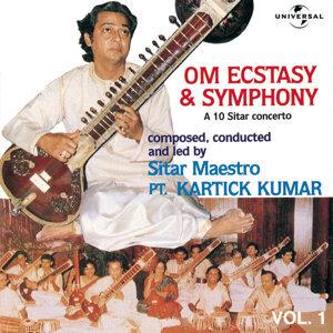 Om Ecstacy & Symphony : A 10 Sitar Concerto  Vol. 1 ( Live )