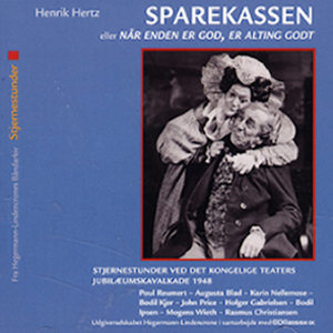 Det Kongelige Teater - Sparekassen - skuespil i 3 akter