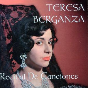 Teresa Berganza: Recital de Canciones