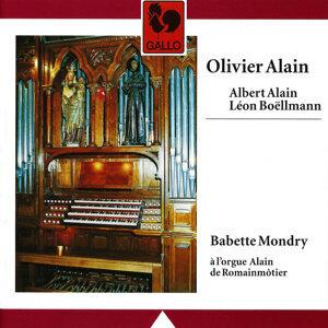 Olivier & Albert Alain - Boëllmann: Alain Organ