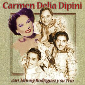 Carmen Delia Dipini con Johnny Rodriguez y su Trio