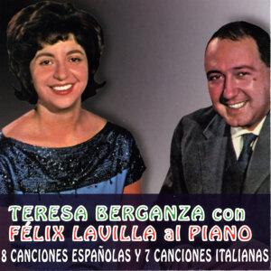 Teresa Berganza con Felix Lavilla al Piano. 8 Canciones Españolas y 7 Canciones Italianas