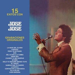 15 Éxitos Con José José  -  Grabaciones Originales