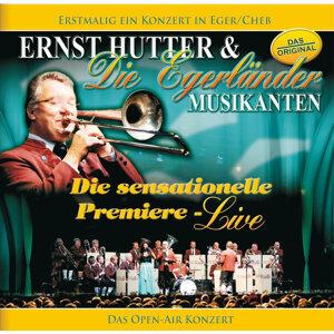 Ernst Hutter / Die sensationelle Premiere - Live / Erstmalig ein Konzert in Eger/Cheb - Das OPEN-AIR Konzert