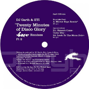 20 Minutes of Disco Glory (Mirror Boys Rmx / '98 Simon Mix)