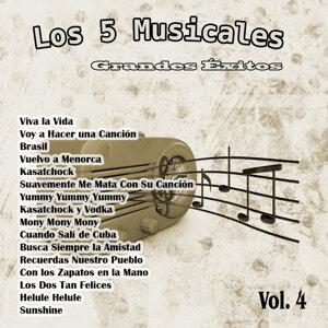 Grandes Éxitos: Los 5 Musicales Vol. 4