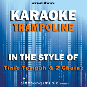 Trampolene (In the Style of Tinie Tempah & 2 Chainz) [Karaoke Version] - Single