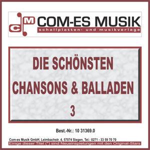 Die schönsten Chansons & Balladen - Vol. 3
