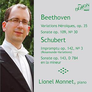 Beethoven: Variations héroiques en Mi Bémol Majeur, Op. 35 - Sonate en Mi Majeur, Op. 109, No. 30 & Schubert: Impromptu en Si Bémol Majeur, Op. 142, No. 3  - Sonate en La Mineur, Op. Posthume 143, D 784